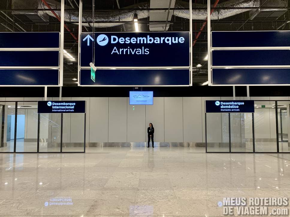 Desembarque do Floripa Airport
