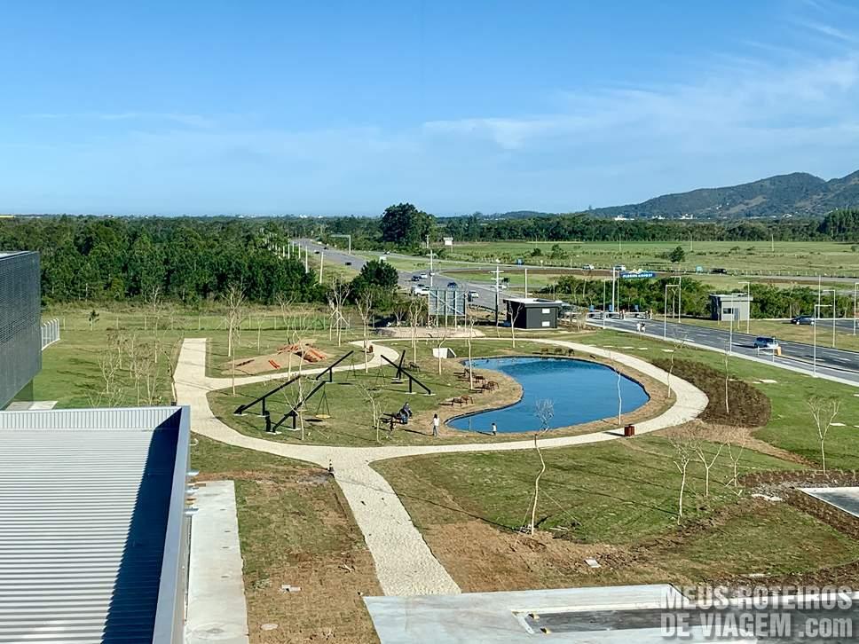 Lago no Floripa Airport