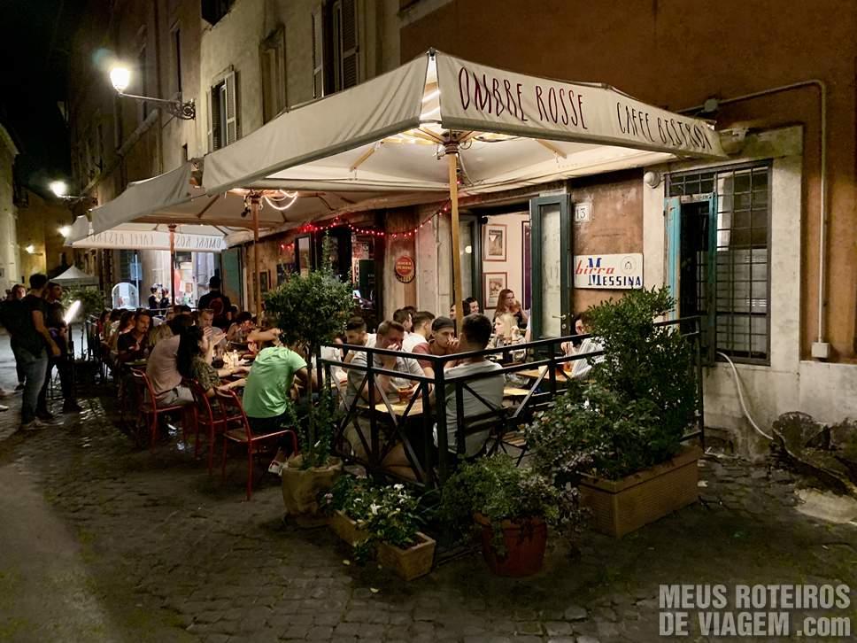 Restaurante Ombre Rosse Roma