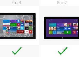 Surface Pro 3 vs Surface Pro 2