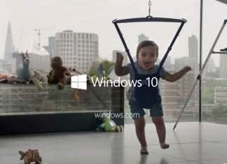 Microsoft divulga videos do Windows 10 somente com criancas