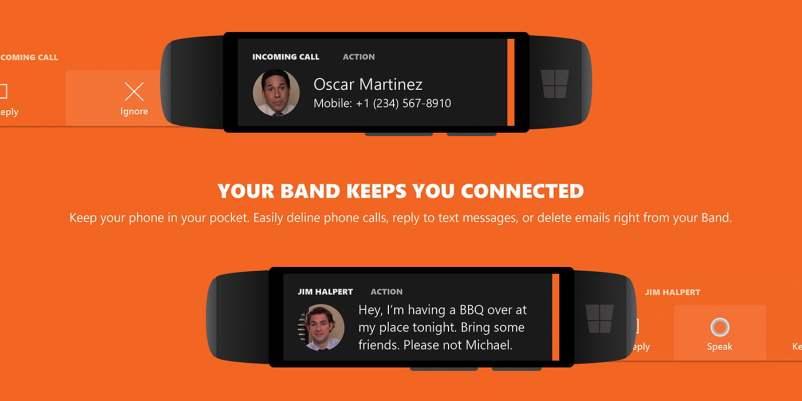 Microsoft Band 2 Concept