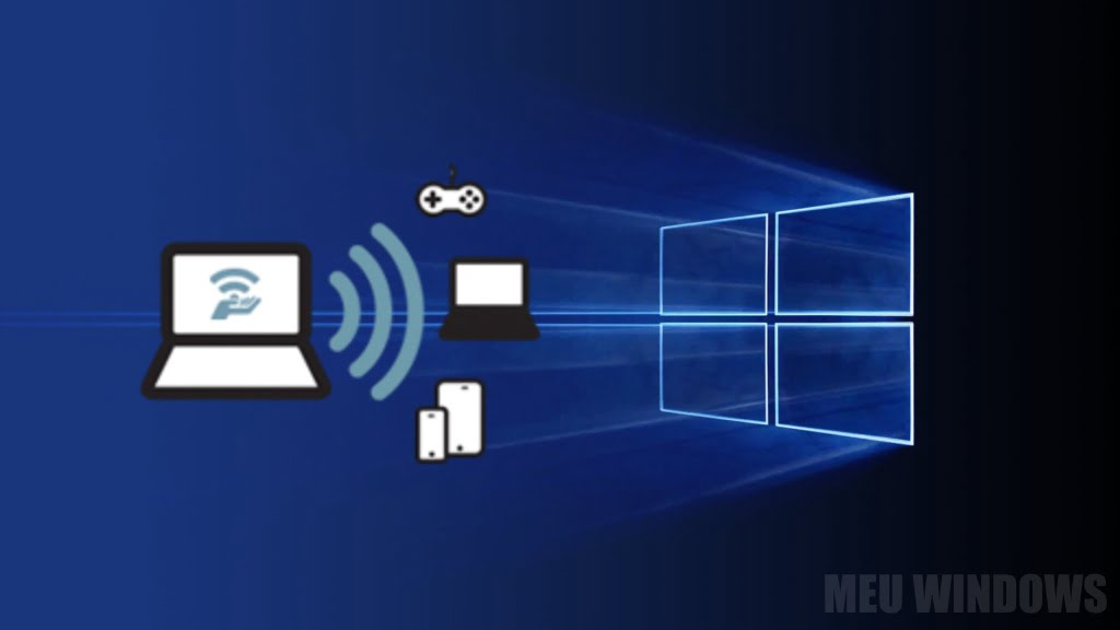 Hotspot móvel no Windows 10