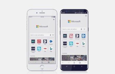 Microsoft Edge para Android e iOS