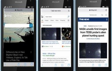 Bing suporta AMP mobile