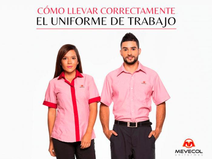 ¿Cómo llevar correctamente el uniforme de trabajo?