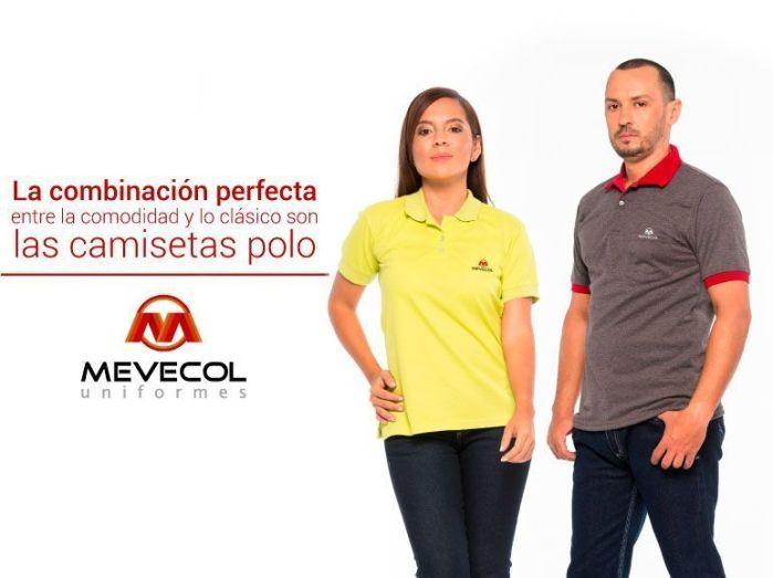 camisetas polo en Mevecol Uniformes