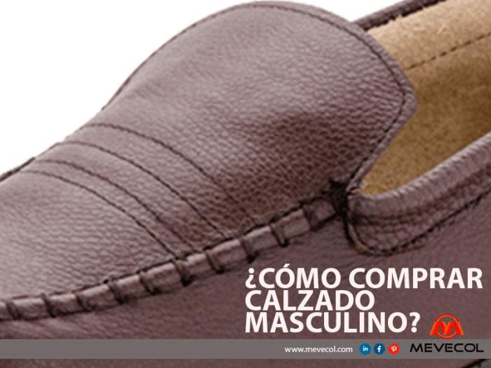 ¿Cómo comprar calzado masculino?