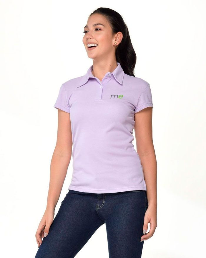Uniforme Mercaderista M101 - Camiseta Polo Dama