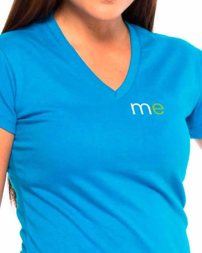 Camisetas personalizadas P6 detalle cuello