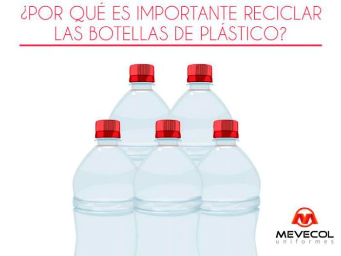 ¿Por qué es importante reciclar las botellas de plástico?