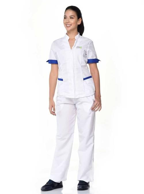 uniforme blanco de dama antifluido s15-1