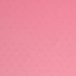 Albstoffe hartjes GOTS roze Weekender