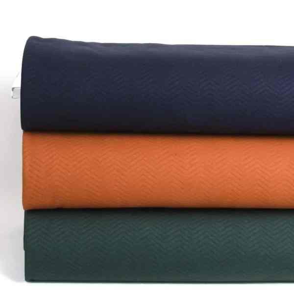 Mind the Maker- Chevron Quilt Navy (sweat) MTM wave drie kleuren Aangepast