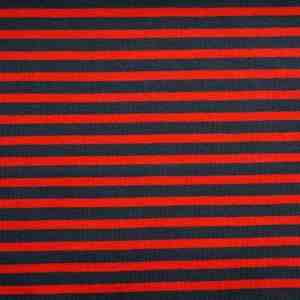 stoffonkel fris rood- donker blauw