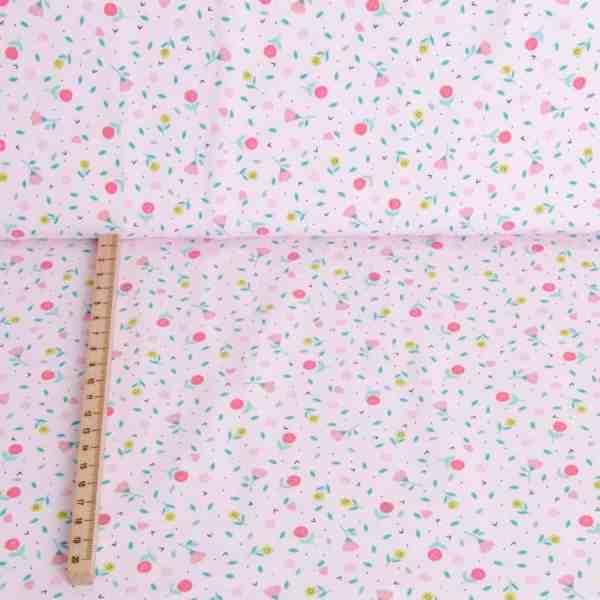 Katia - Tricot Savanna Pink Flowers Juffrouw Katoentje12