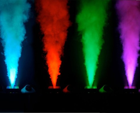 LIGHTED CO2 JETS