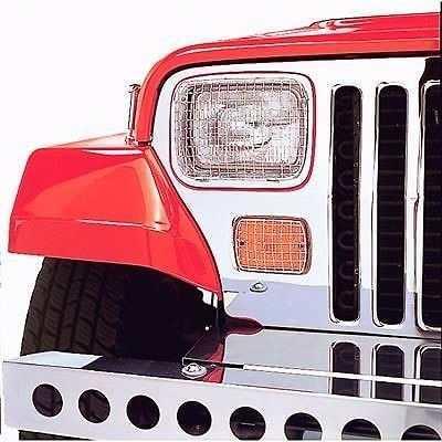 Rejillas Faros Y Cuartos Jeep Wrangler