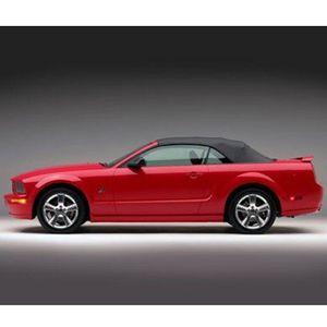 Capota Con Medallon Cristal Para Ford Mustang 2005-2014