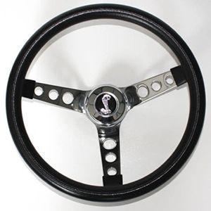 """Volante Negro De 13.5"""" Para Ford Mustang 1984-1991"""
