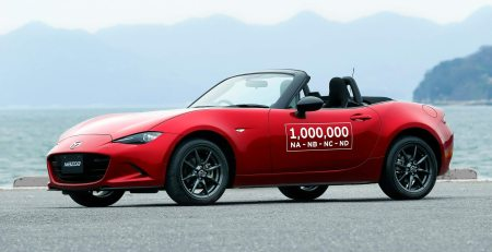 Mazda MX-5 Miata ha llegado a su millonésima unidad fabricada