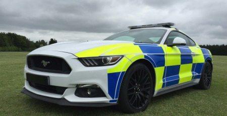Ford Mustang para policía llegarían en Reino Unido
