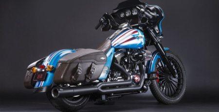 Harley-Davidson personalizadas con super héroes de Marvel imagen 1