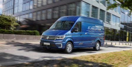 VW e-Crafter van un ejemplo más de la movilidad eléctrica