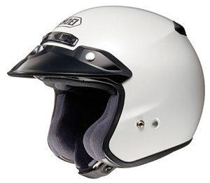 Casco Para Moto Shoei RJ Platinum-R Blanco Crystal