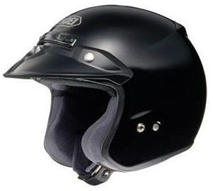 Casco Para Moto Shoei RJ Platinum-R Negro Mate