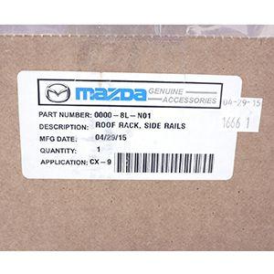 Barras Portaequipaje Originales Laterales Mazda Cx-9 2007-2015