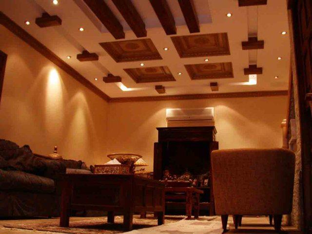 alçı tavan dekorasyon resimleri