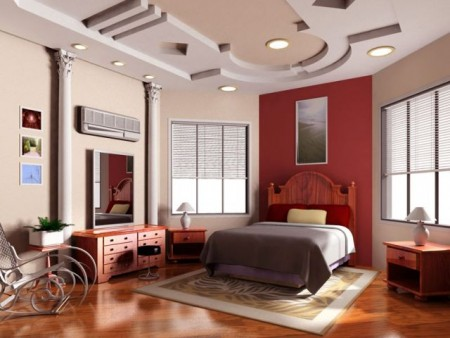 Yatak Odası Tavanlar 2015 lüks dekorasyon ve tasarımlar (4)