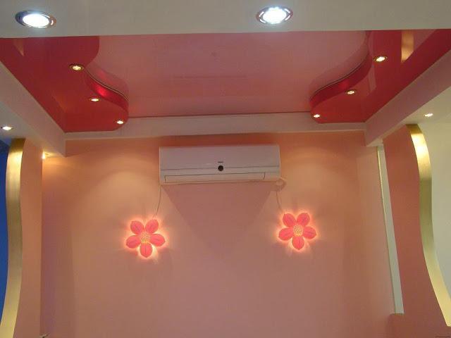 Tavan, oda ve hollerin alçı şekillerinin resimleri (3)