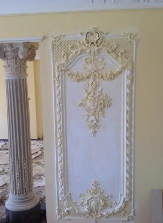 Klasik alçı dekorasyon resimleri (1)