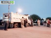 basura protesta mexicali