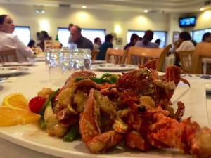 comida china langosta