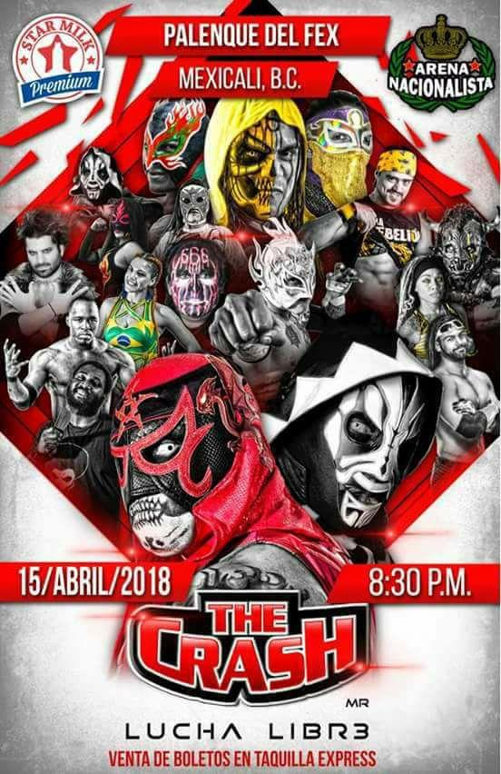 the crash mexicali 2018