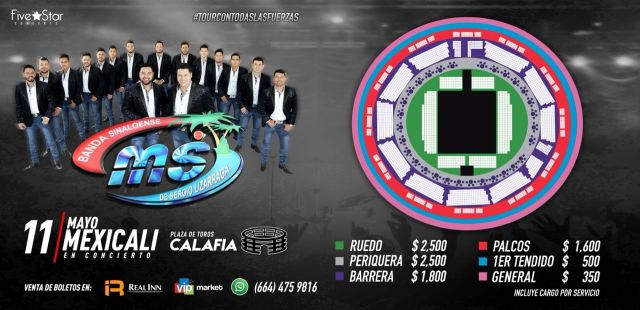 banda ms mexicali 2018