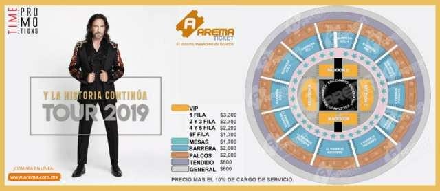 precios marco antonio 2019