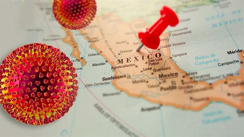 covid19 map mexico