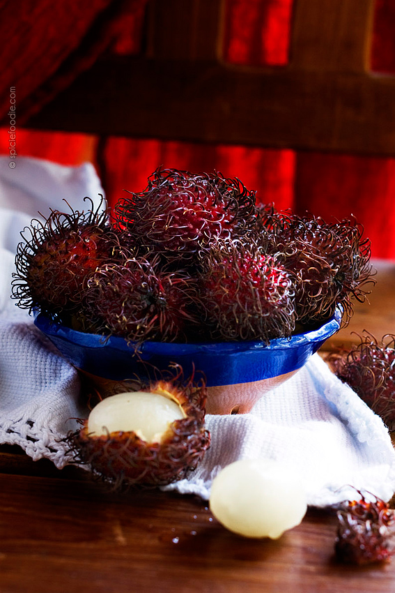 Mexican Rambutan | #mexico #fruit #tropical #rambutan