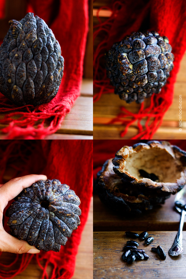 Saramuyo or SugarApple | #mexico #fruit #tropical #saramuyo #sugarapple