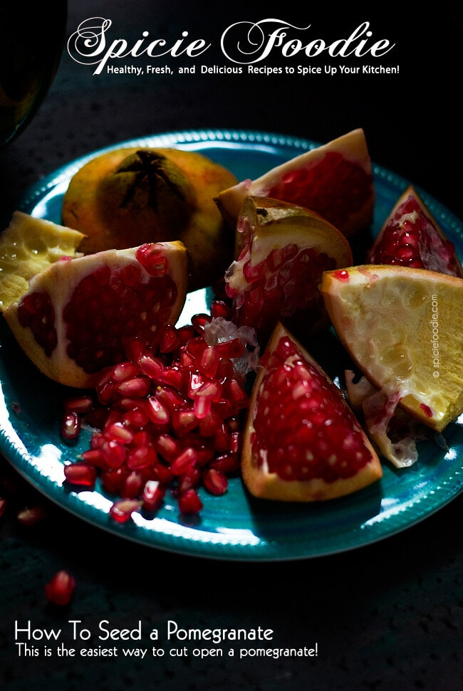 The Easiest Way to Seed a Pomegranate | #pomegranate #howtoseed