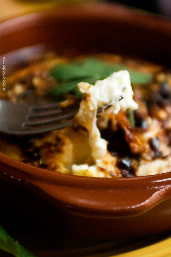 Baked Panela Cheese with Herbs and Pepper Flakes| #mexican #appetiser #glutenfree