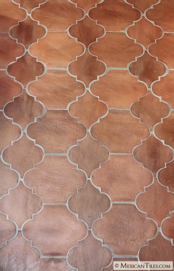 mexican tile 6 x 6 tierra floor
