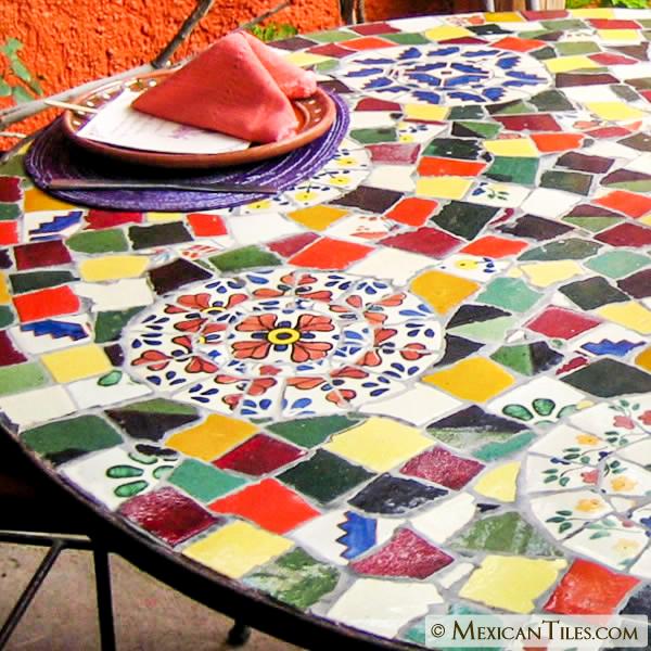 mexican tile broken mexican talavera