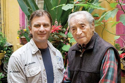 Alfredo Martínez with Ramón Valdiosera / Alfredo Martínez