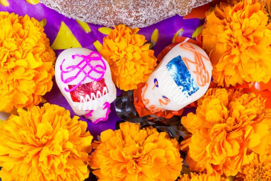 Flores de Día de Muertos: Cempasuchil