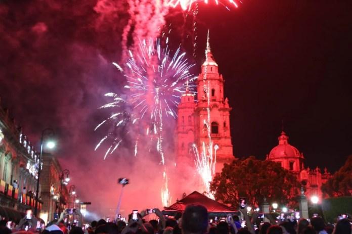 Hoy Morelia festejará 480 años de historia con espectáculo de pirotecnia    México Desconocido